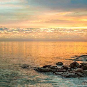 Sunrise over Geographe Bay South West Australia Beach Photography
