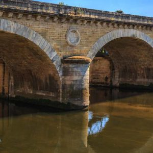 International Landscape Photographer Old Bridge in Le Bugue, France